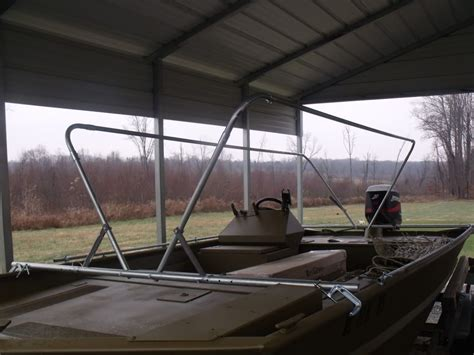 Duck-Blind-With-Storage-Building-Plans