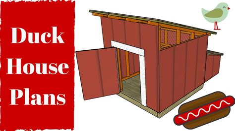 Duck-House-Plans