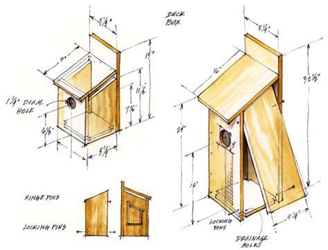 Ducks-Unlimited-Wood-Duck-House-Plans