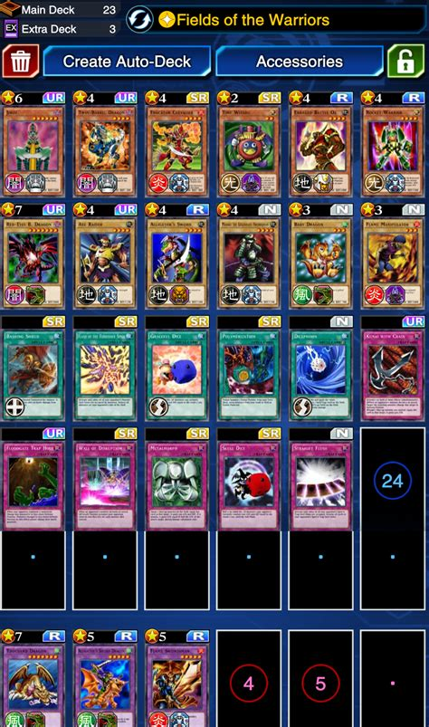 Duel Links Joey Deck Build