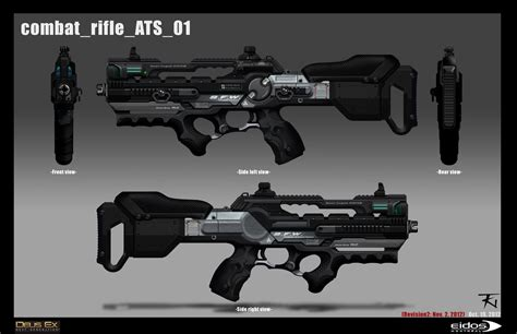 Dues Ex Heavy Assault Rifle And F1 Assault Rifle