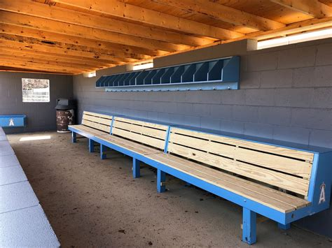 Dugout Bench Plans Specifications