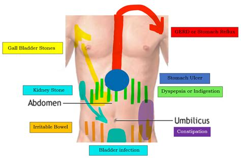 Dull Pain In Middle Of Back And Chest And Excessive Gas Bloating Back Pain