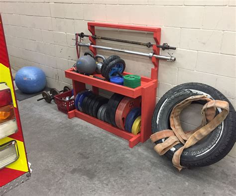 Dumbbell Storage Diy Projects