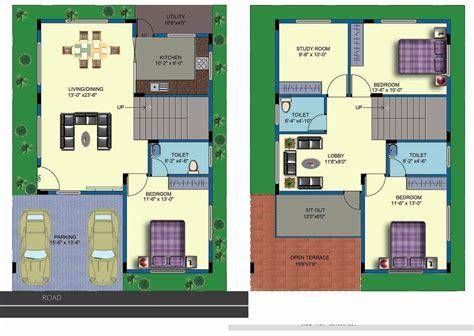 Duplex-House-Plans-India-Free