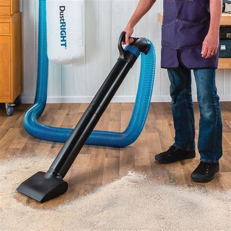 Dust Collection Floor Sweep With Wheels