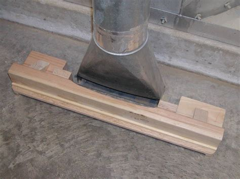 Dust Collector Floor Sweep Adaptor Protein