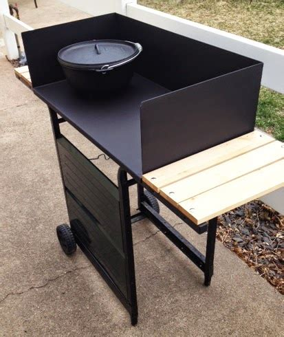 Dutch Oven Cooking Table Diy