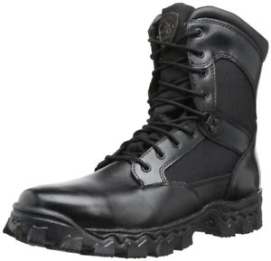 Duty Men's Alpha Force 8' Zipper Boot,Black,11.5 W