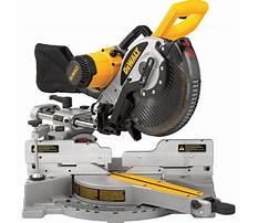 Best Dw717 10 inch double bevel sliding compound miter saw