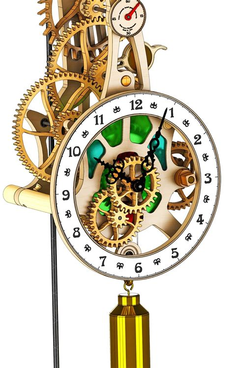 Dxf-Wooden-Clock-Plans
