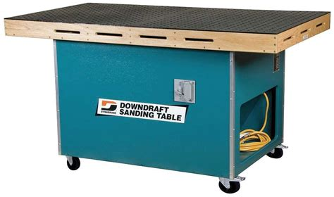 Dynabrade Downdraft Sanding Table