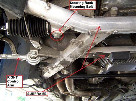 E46-Steering-Rack-Replacement-Diy