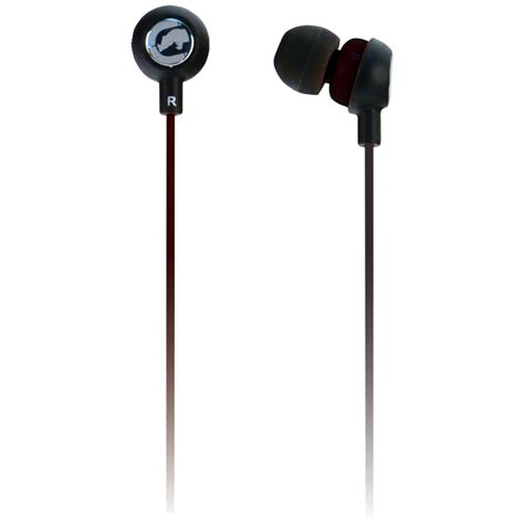 ECKO UNLIMITED EKU-CHA2-BK Ecko Chaos 2 Earbuds with Microphone (Black)