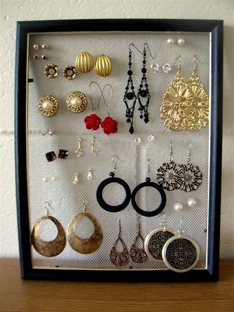 Earring Tray Diy