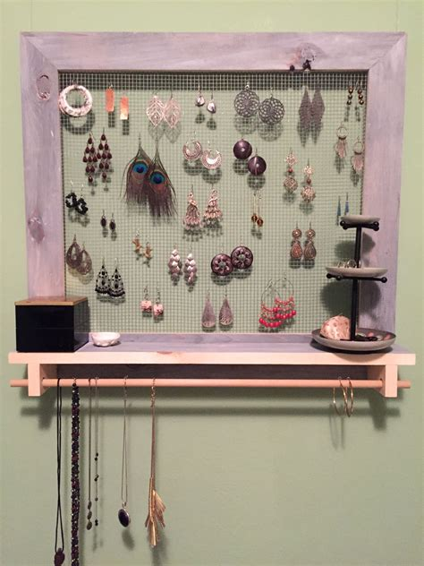 Earrings Rack Diy