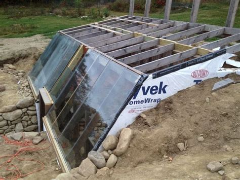 Earth Sheltered Greenhouse Plans