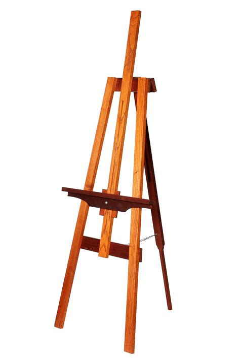 Easel Art Stand From Wood Plan