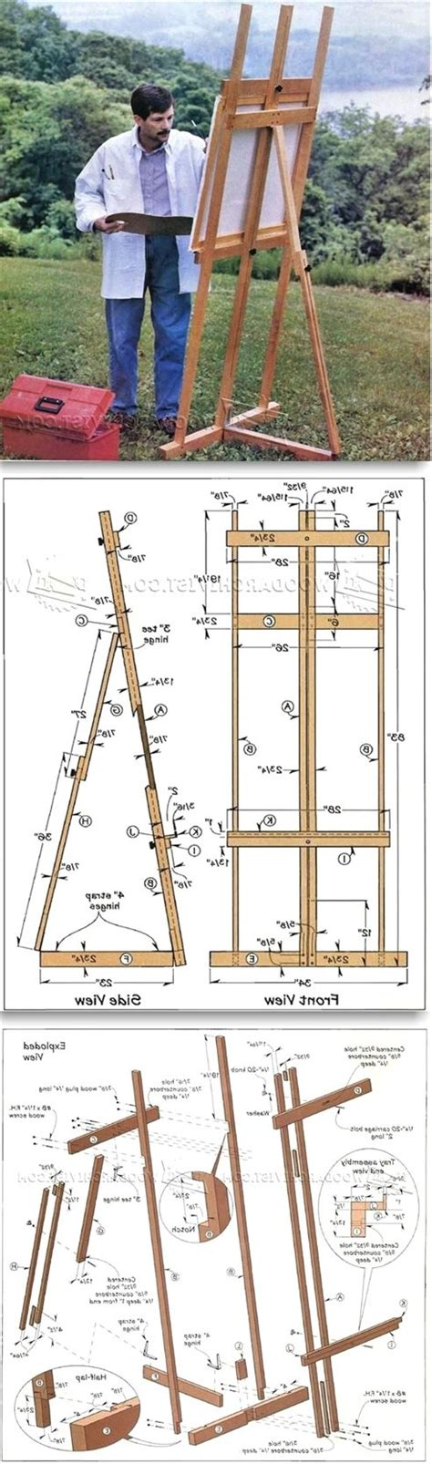 Easel-Plans-Woodworking