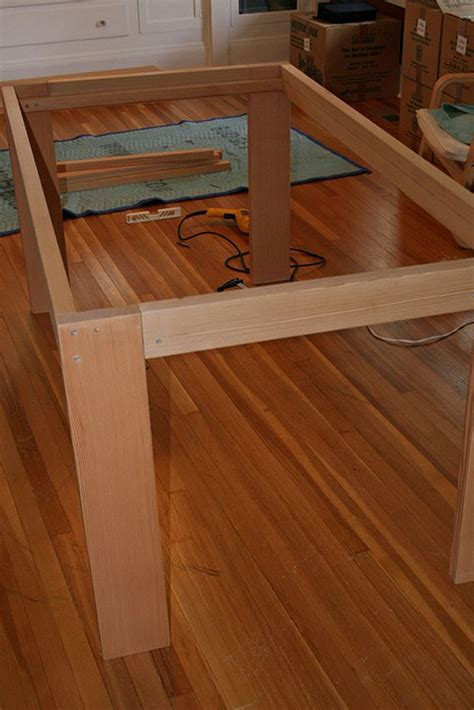 Easiest Leg Support For Table Diy Plans