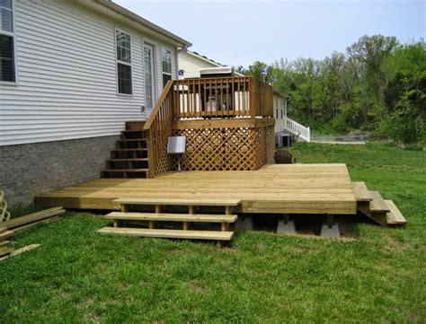 Easiest Way To Build A Deck On Uneven Ground