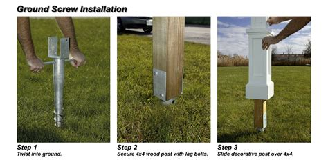 Easiest Way To Place Fence Post