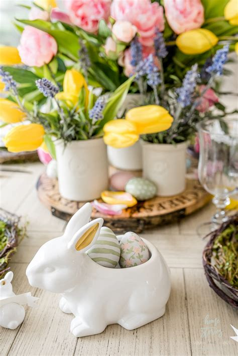 Easter Table Centerpiece Diy Retirement