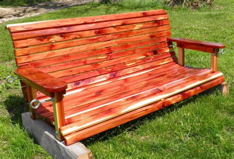 Eastern Red Cedar Porch Swing Plans