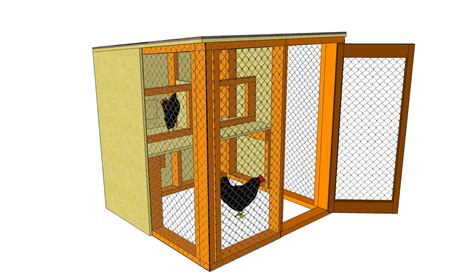 Easy 2 Chicken Coop Plans