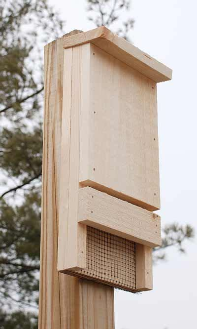 Easy Bat House Designs