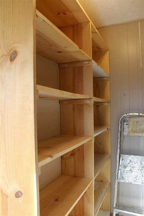 Easy Build Shelving Units