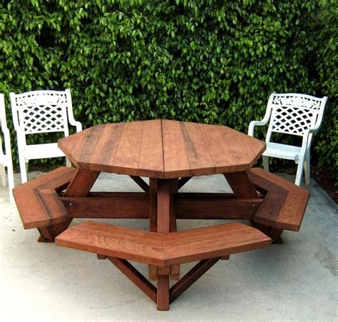 Easy Coffee Table Plans Octagon