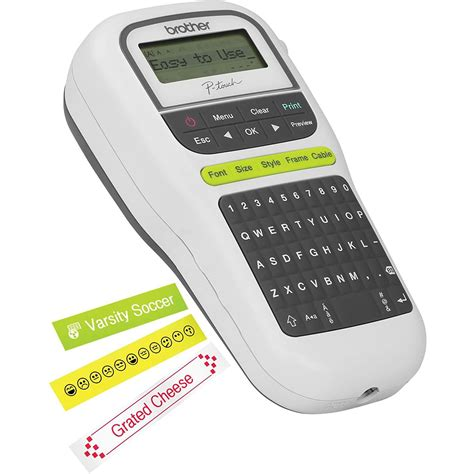 Easy Compact Label Maker Electronics Computer Networking