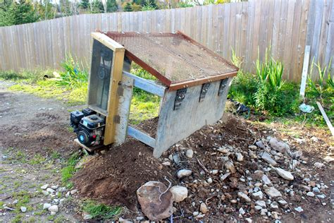 Easy Compost Sifter Plans For Houses