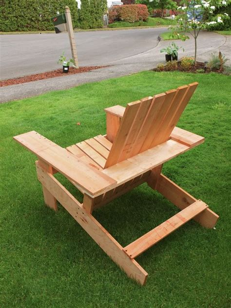 Easy DIY Adirondack Chair