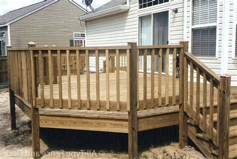 Easy Deck Railing Plans