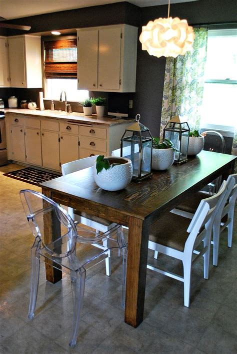 Easy Dining Room Table Diy