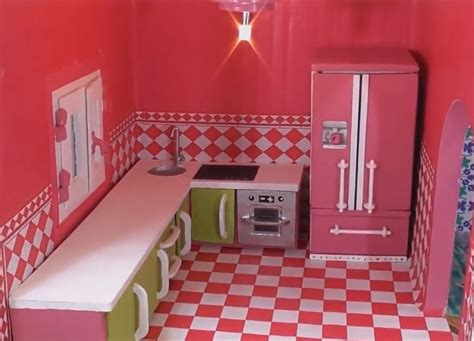 Easy Diy Barbie Kitchen