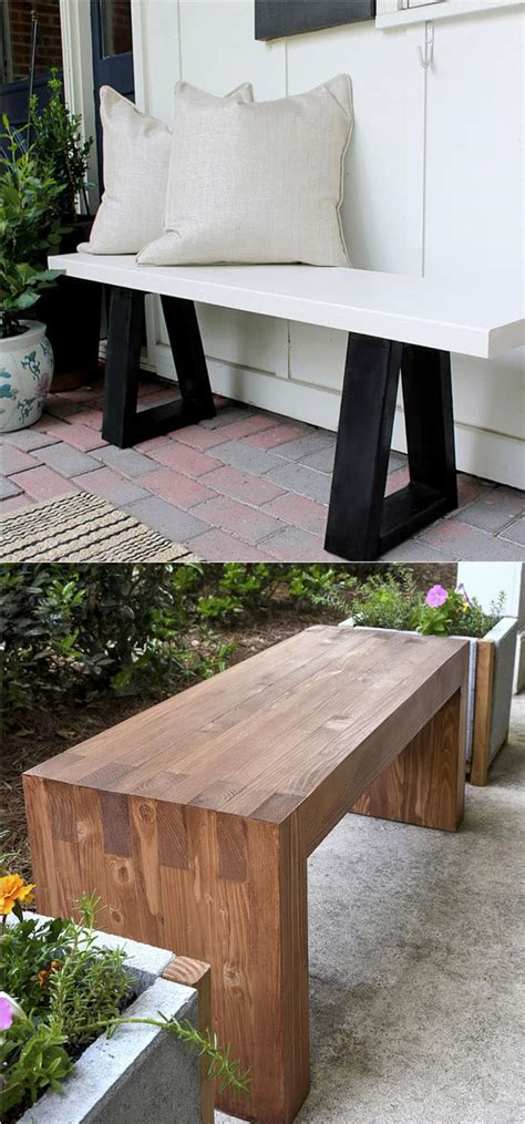 Easy Diy Bedroom Bench