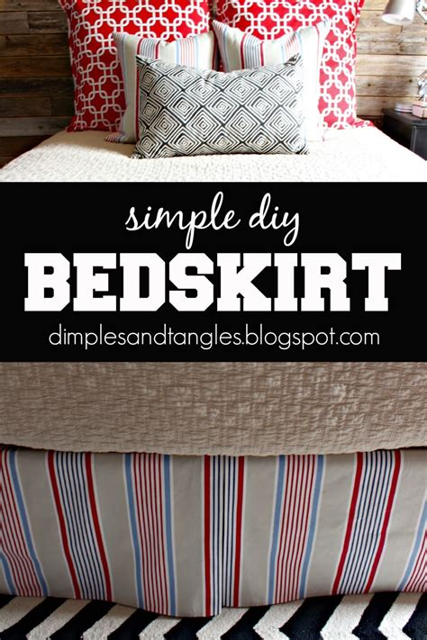 Easy Diy Bedskirts