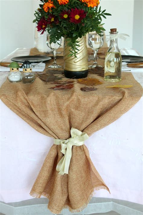Easy Diy Burlap Table Runner