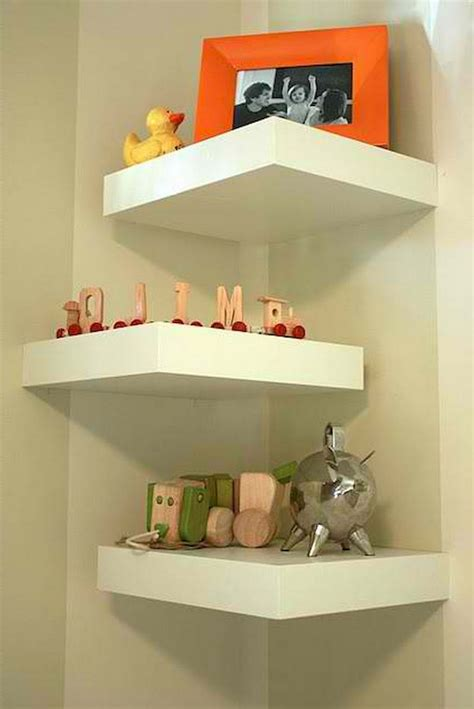 Easy Diy Corner Wall Storage