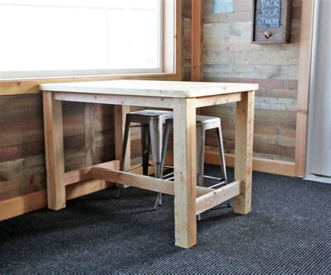 Easy Diy Counter Height Table