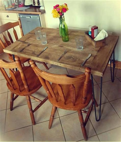 Easy Diy Dining Table W Pallets