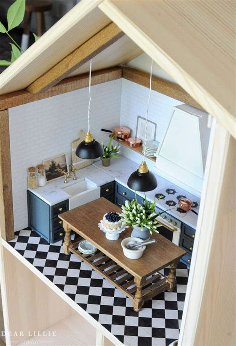Easy Diy Dollhouse Cupboards
