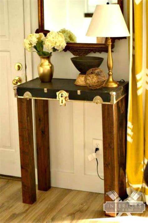 Easy Diy Entryway Table