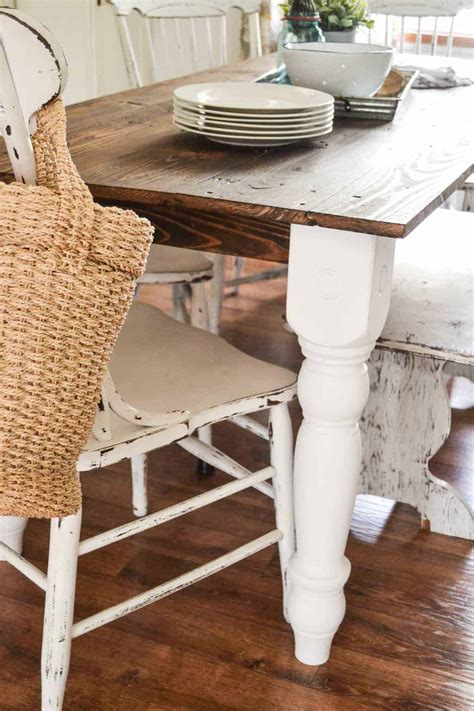 Easy Diy Farmhouse Table