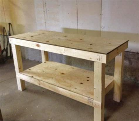 Easy Diy Garage Workbench