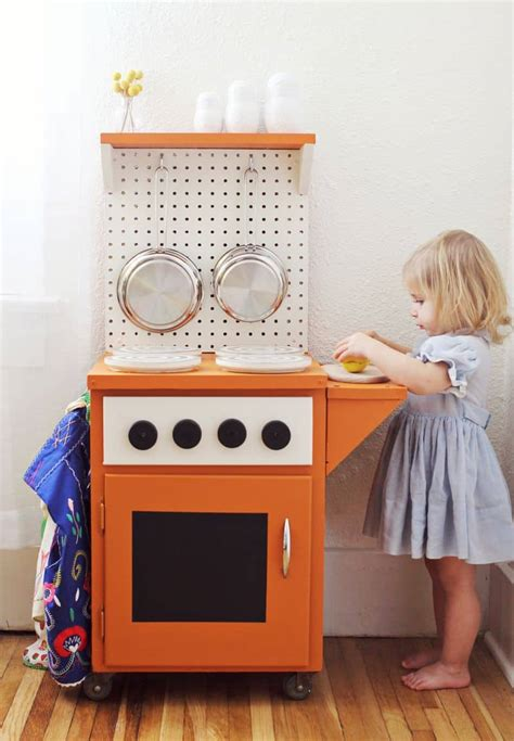 Easy Diy Kids Kitchen