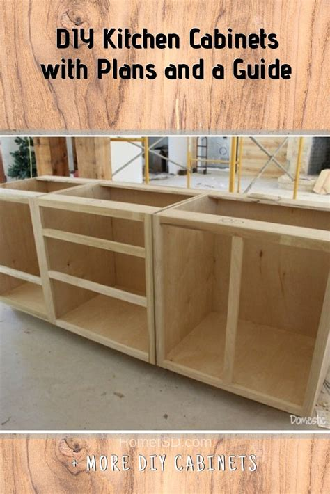Easy Diy Kitchen Cabinet Building Plan